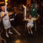 Condutores do Senac revezam Tocha Olímpica