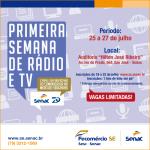 Semana de Rádio e Tv – Inscrições encerradas!