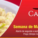 Senac Bistrô Cacique Chá – Semana de Massas 2016