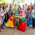 Aprendizes promovem tarde recreativa na Casa Maternal Amélia Leite