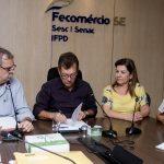 Fecomércio assina Convênio de Cooperação Técnica entre Senac, CRC-SE e Sescap-SE
