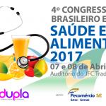 Senac apoia o 4º Congresso Brasileiro em Saúde e Alimentos