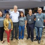 Feira de Beleza: Diretor do Senac e Superintendente da Fecomércio visitam evento