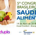 Senac participa do 5º Congresso Brasileiro em Saúde e Alimentos