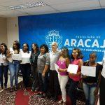 Senac e Prefeitura de Aracaju entregam certificados para mais de 100 alunos