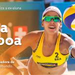 Egressa do Senac é eleita melhor jogadora do mundo de vôlei de praia