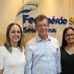 Laércio Oliveira anuncia novas diretoras do Sesc e Senac