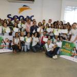 Senac e Instituto Rahamim certificam alunos de Recepcionista e Corel Draw