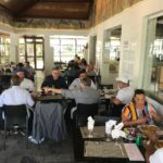 Primeiro dia do Buffet de Culinária Baiana do Cacique chá é sucesso de público