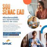 Senac oferece cursos gratuitos à distância durante pandemia