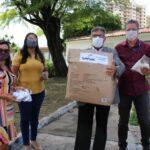 Senac doa 1.000 máscaras para a Fundação Renascer