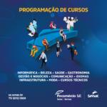 Senac Sergipe oferta mais de 500 vagas em diversos cursos